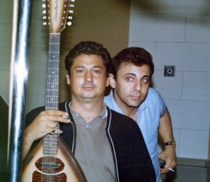 "Two of ""The Crew"" - guitarist Tommy Tedesco and drummer Hal Blaine"