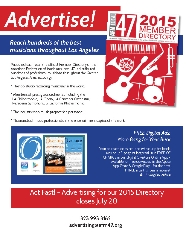 2015 DIRECTORY AD FLYER