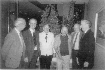 The last picture of all six Tanner brothers, taken circa 1992: Paul (75), Bob (78), Slim (76), Tim (59), Don (73) and Stu (67).