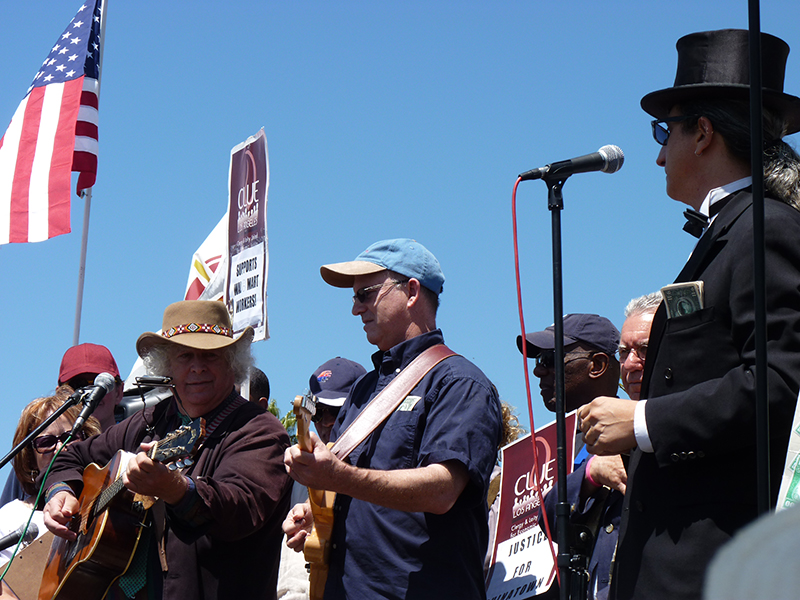 Walmart rally, downtown L.A., June 30, 2012 (Overture archives/Linda A. Rapka)