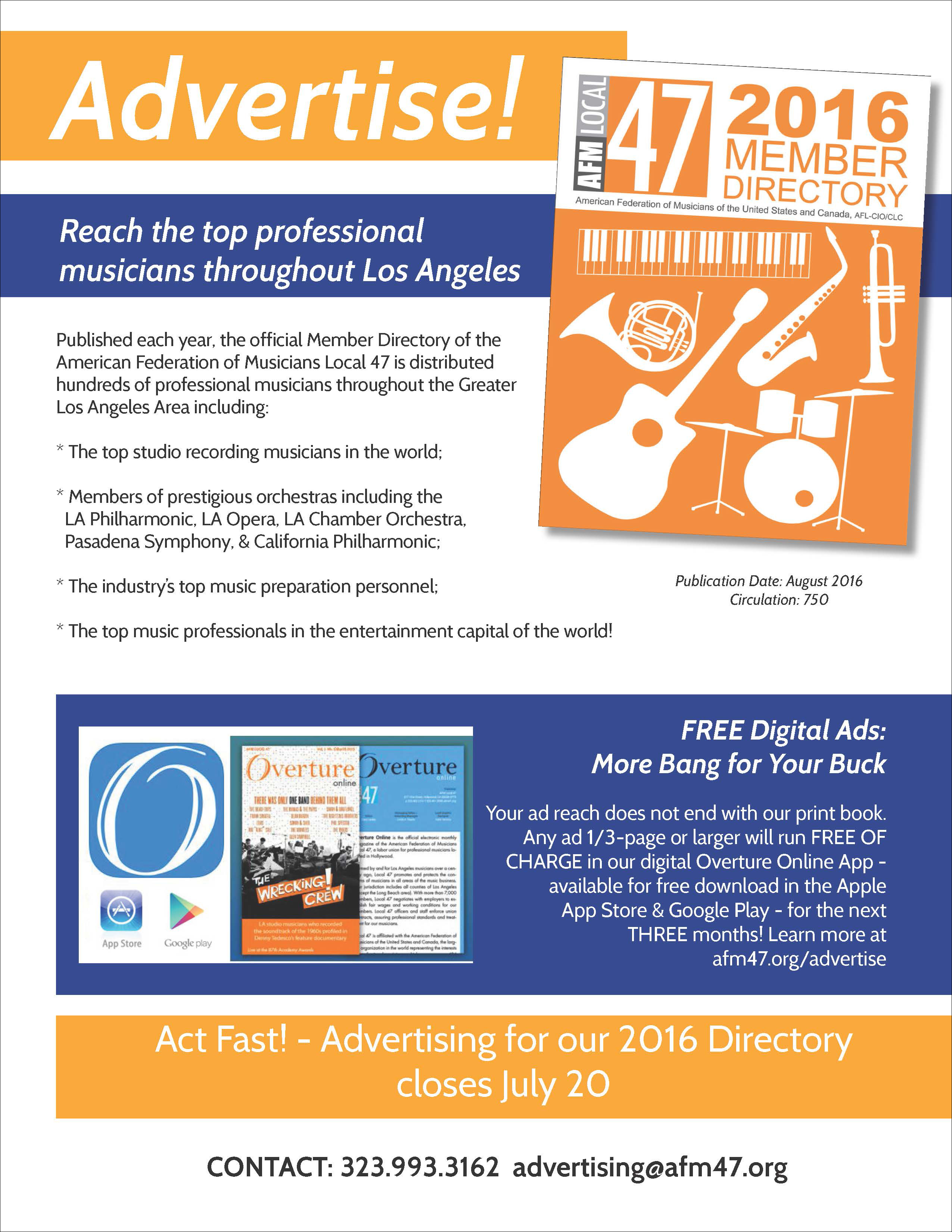 2016 DIRECTORY AD FLYER 2