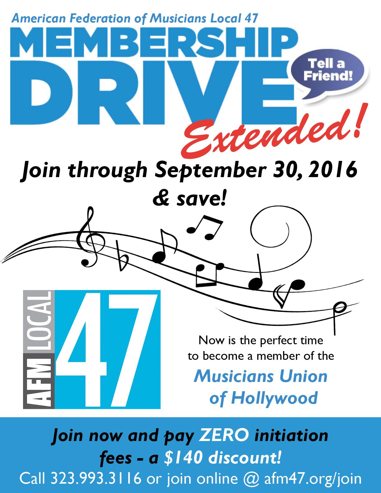 membership drive 2016