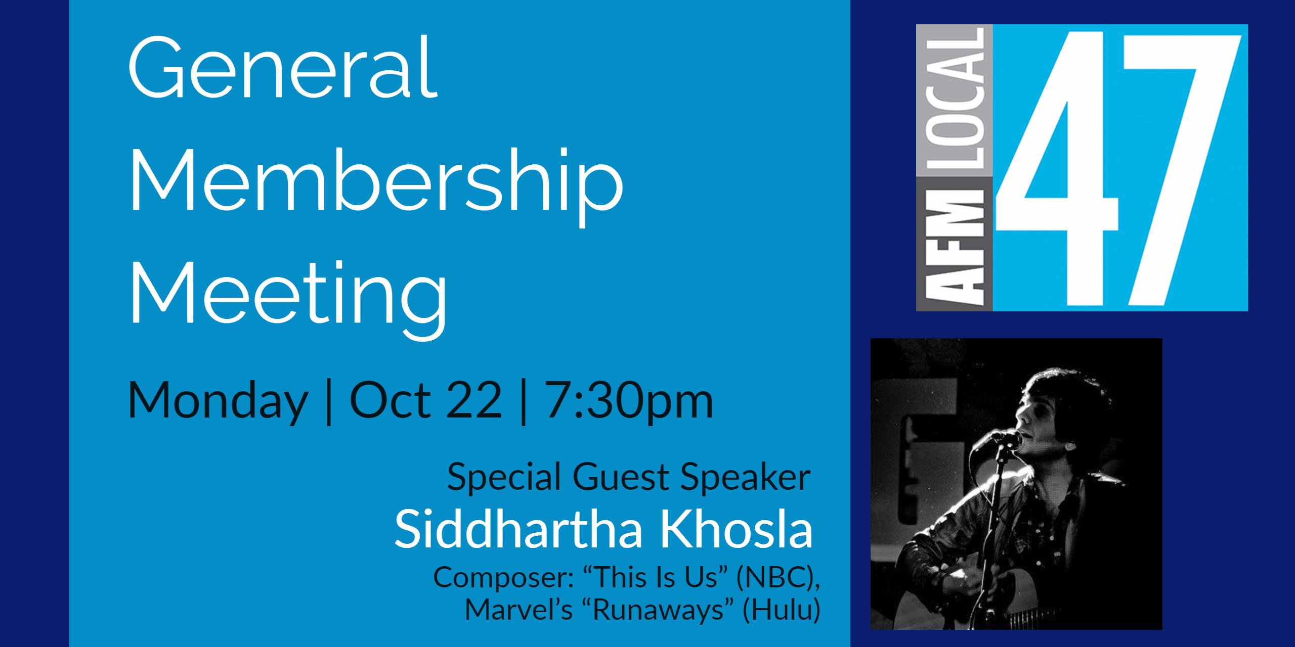 October General Membership Meeting w/ Siddhartha Khosla - 47